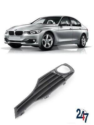 BMW 3 serie F30 F31 2011-2015 Sport Line Parachoques Delantero Parrilla de luz de niebla izquierda