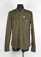 Superdry Division Mandarin Men Jacket Over Shirt Size XL, Genuine