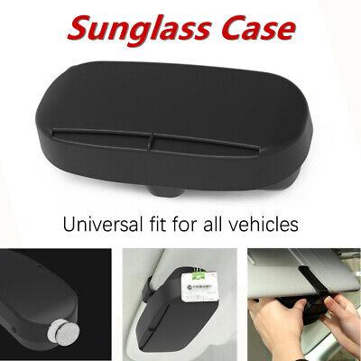 Iswell Car Sun Visor Gafas de Sol magn/éticas Soporte de Caja Gafas Organizador Caja con Clip Dise/ño Gafas de Coche Marco Gafas de Coche Clip