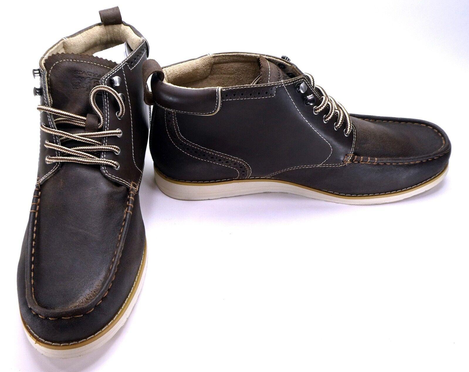 Stacy Adams Zapatos Tenis Cannon Classic Cuero Marrón
