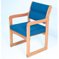 Wooden Mallet Valley Guest Chair-light Oak- Dw1-1lopb Chair