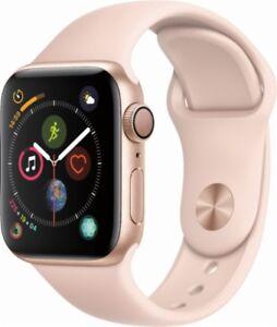 cybersale-New-Apple-Watch-Series-4-40mm-Gold-Alum-Pink-Sand-Sport-Agsbeagle