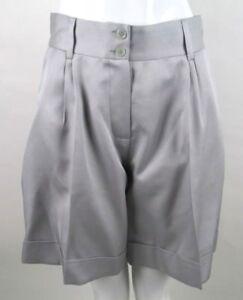 Grijze Shorts wol 40it 8 High Missoni Size Bnwts Silk Rise Vk wqpIW74