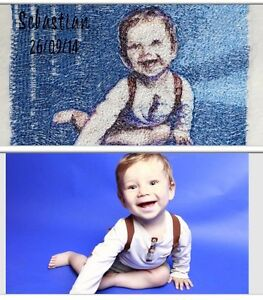 PERSONALISED-EMBROIDERED-BABY-BLANKET-PICTURE-NAME-KEEPSAKE-UNIQUE-GIFT-BOY-amp-GIRL
