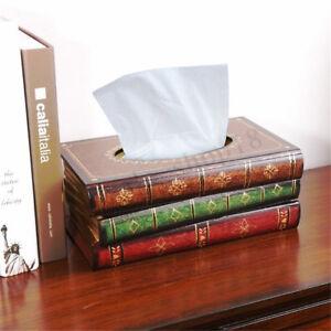 Tuecherbox-Feuchttuecherbox-Tissuebox-Kosmetiktuecherbox-Buch-Taschentuchspender