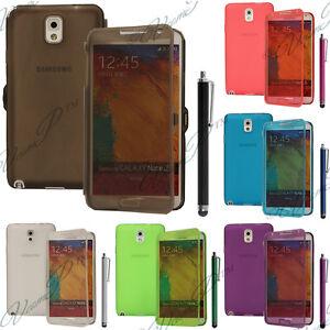 Housse-Coque-Etui-Portefeuille-Livre-Silicone-Samsung-Galaxy-Note-3-N9000-N9005