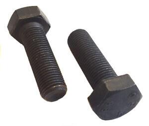 2pc M10x 1.25x 20mm Stainless Steel Socket Button Screws Metric FINE DIN7380-A2