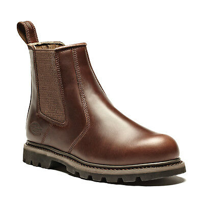 Dickies Fife Ii Safety Work Dealer Boots Brown (sizes 6-12) Men's Shoes Seien Sie Freundlich Im Gebrauch