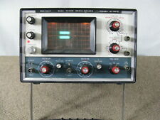 New Listingheathkit Dual Trace Oscilloscope Io 4510 Powers On Amp Manuals Parts Or Repair