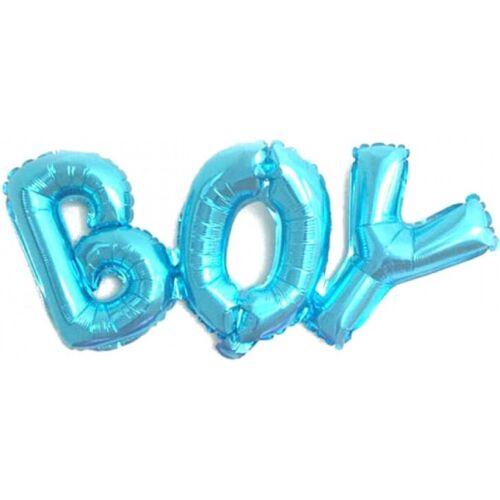 """3 pièces gonflable de diapositives Ballon Ballon Ballon Déco /""""BOY/"""" environ 70 x 27 cm"""