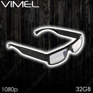 db26f73da33c Image is loading Hidden-Glasses-Video-Camera-Security-1080P-HD-Sunglasses-