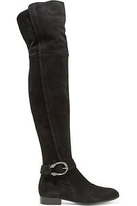 06f9bf6aa3b63 Gucci  dionysus  Over The Black Suede Over-The-Knee Boots Booties ...