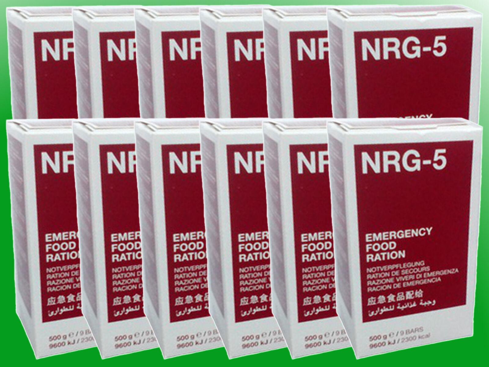 ( /kg) 12x500g NRG-5 Notnahrung, Notverpflegung, Survival, Langzeitnahrung