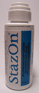 StazON-All-Purpose-Stamp-Cleaner-2oz-dauber-bottle-Clean-All-Rubber-Stamp-Inks