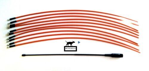 "10 DC 40 Tuff Skin /& Garmin Astro 220 320 Flexible 18/"" Long Range Antenna"
