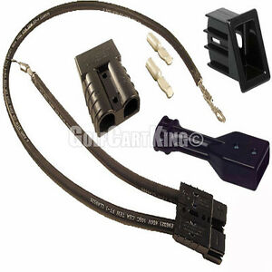 Ezgo sb50 dc charger handle receptacle complete kit 83 94 for Marathon electric motor replacement parts