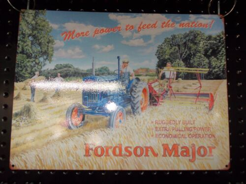 BA Fordson Major TTF4125  300 X 400 Collectable Metal Wall Mounted Plate