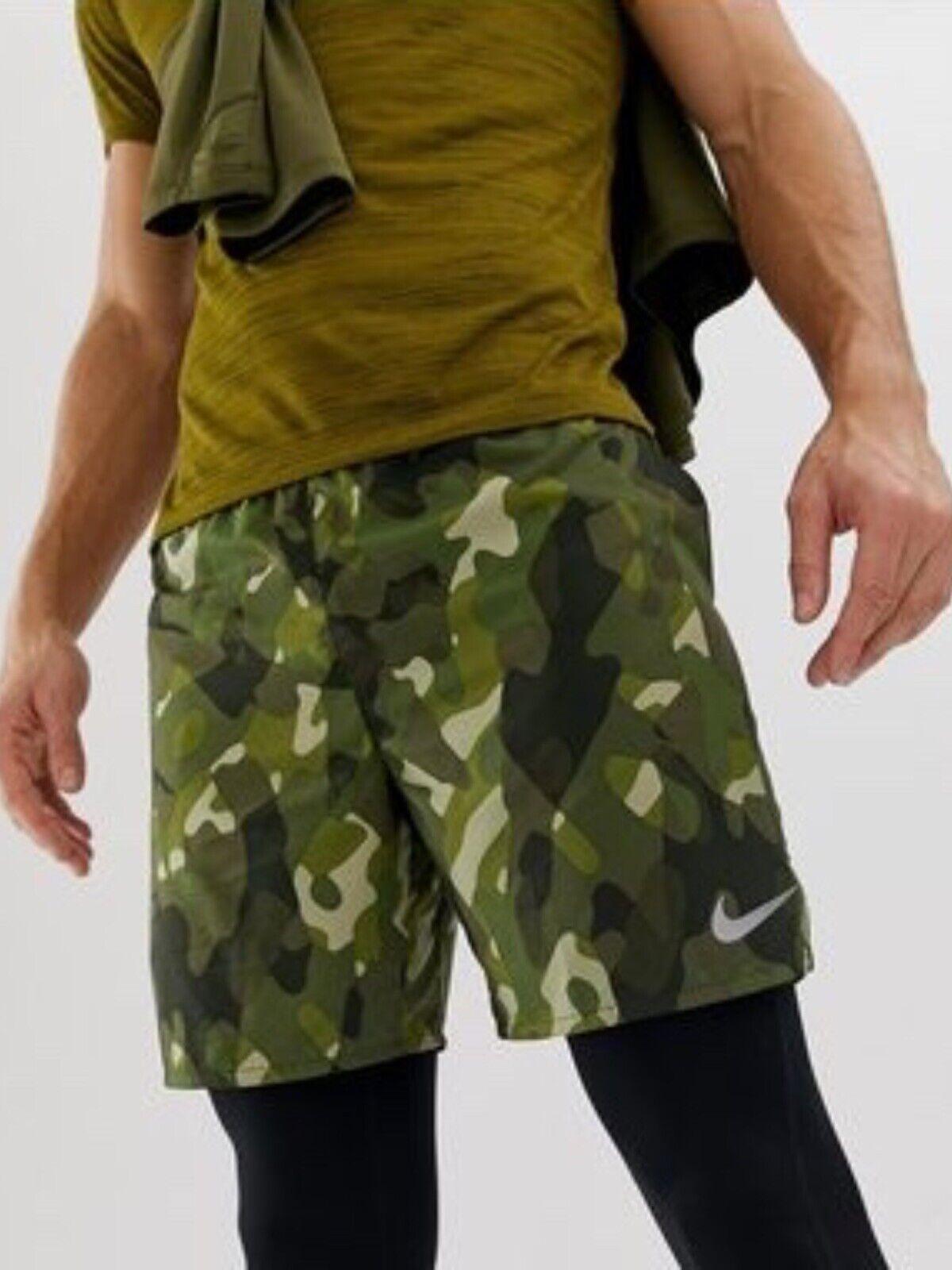 Nike Camo-laufshort para caballeros  (aprox. 18 cm) nike distance talla L  descuento de bajo precio