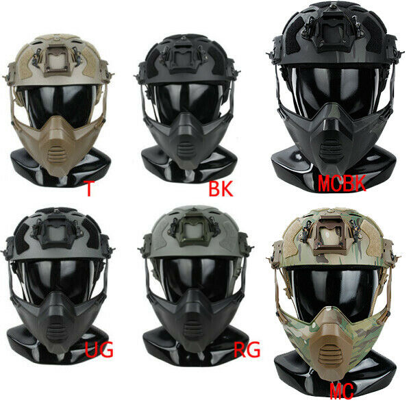 TMC3217 SF Paintball tactical helmet with SF special mask  combination M L  buy discounts
