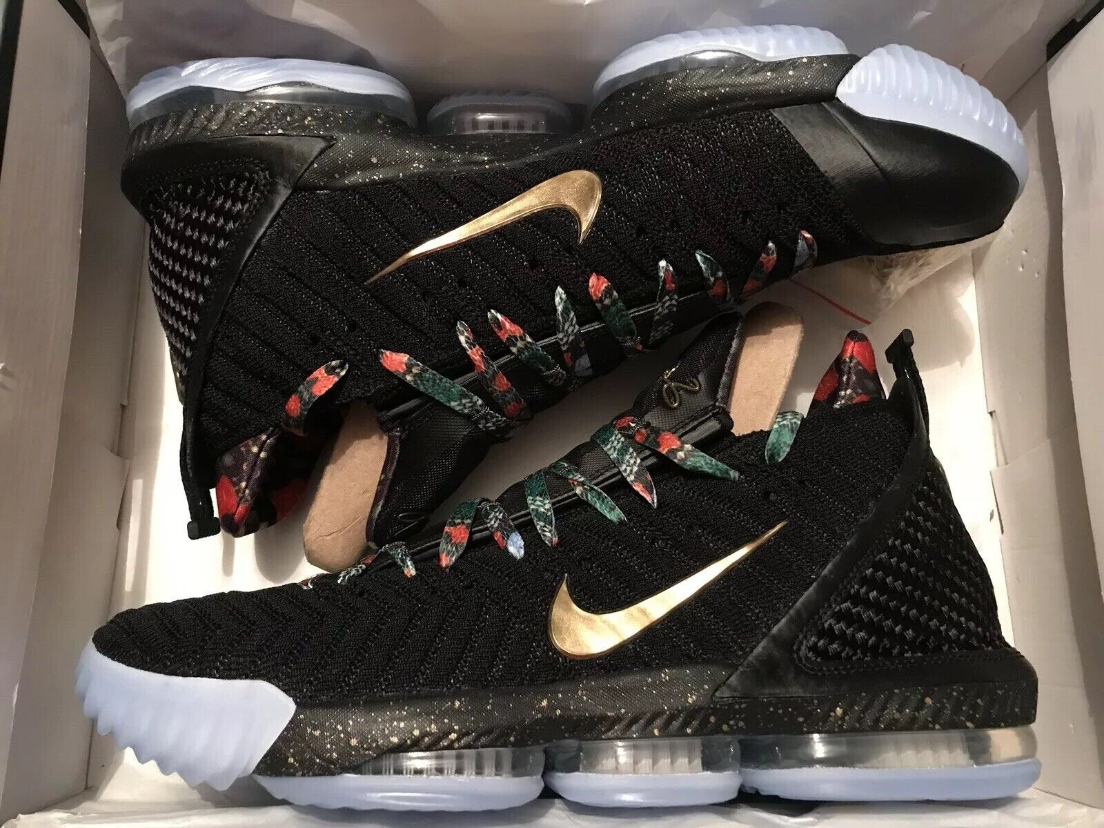 Nike Lebron XVI 16 Watch The Throne WTT CI1518-001 Size 13 DS Limited Rare