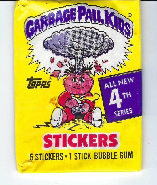 Garbage Pail Kids 1986 Series 4 Wax Pack.