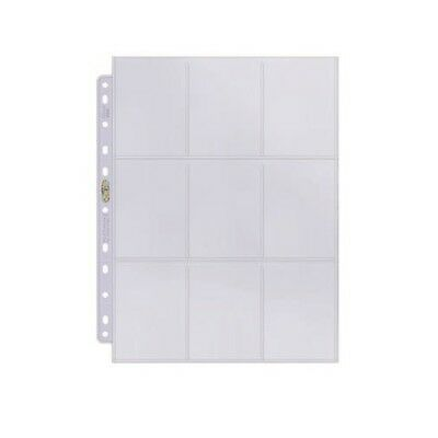 Display Ultra Pro 83423 UP 100 Pages Platinum 9-Pocket Pages 11 Hole