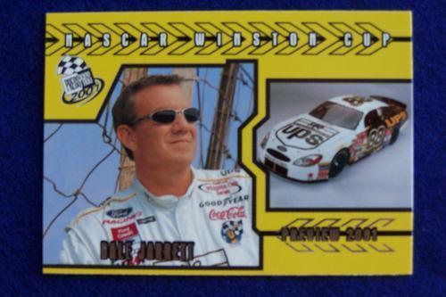 Dale Jarrett UPS 2001 Press Pass Racing Card