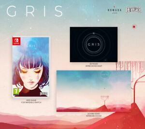 GRIS Nintendo Switch NEW EDITION with ART BOOK Nuevo a Estrenar