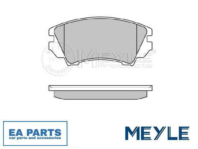 Brake Pad Set, disc brake for OPEL SAAB VAUXHALL MEYLE 025 244 1219/W