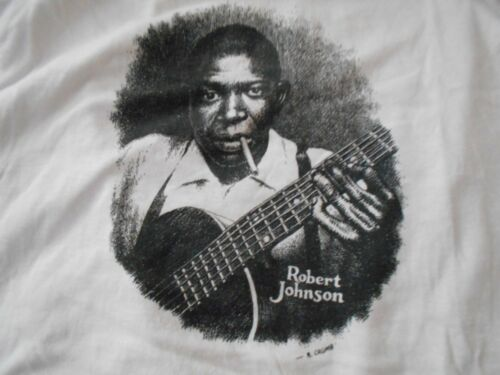 R CRUMB ORIGINAL T Shirt ROBERT JOHNSON PSYCH Art