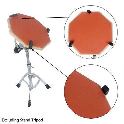 Orange Dumb Drum Pad Drum Practice Pad Mat Plate Drumming