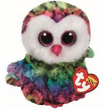 2f8e42f1f57 item 7 Ty Beanie Boos Owen the Multi-Colored Owl Plush Stuffed 6