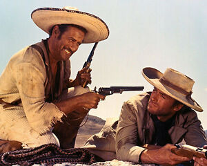 Clint Eastwood & Eli Wallach [1018637] 8x10 photo (other sizes available)