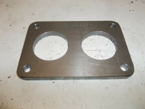 """36mm Weber DCNF mounting flange or spacer 1//4/"""" thick steel"""