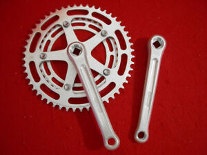 Le-Tour-Crank-Set-Schwinn-Approved-170-mm-Double-Alloy-52-39-Used