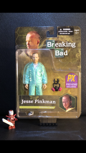 Breaking Bad Figur Jesse Pinkman PX Previews Exclusive MEZCO Neu & OVP wie NECA