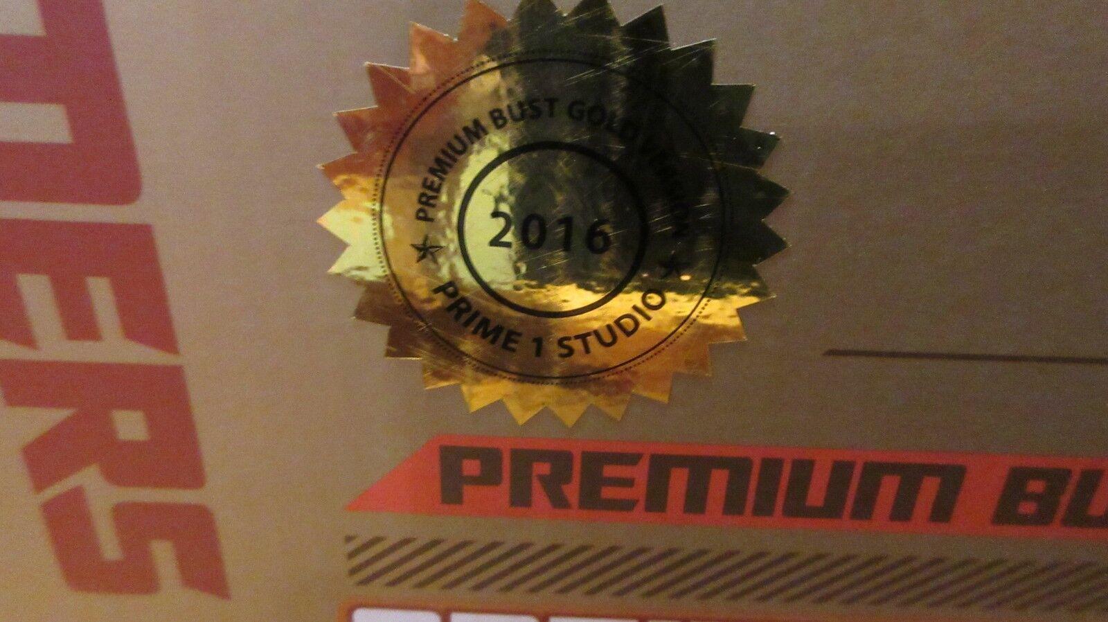 PRIME 1 Transformers Age of Extinction Optimus Optimus Optimus Prime gold BUST RARE  75 300 2a25c6