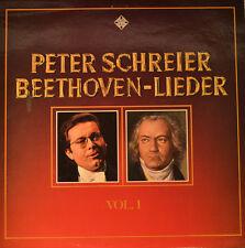 "PETER SCHREIBER - BEETHOVEN LIEDER VOL. 1   12""  LP (L246)"
