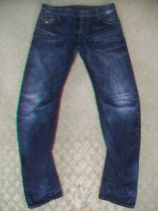 MENS-G-STAR-039-ARC-ZIP-3D-SLIM-039-JEANS-SIZE-30