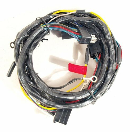 1965 Ford Mustang Headlight Wiring Harness from Firewall with Gauges /& Fog Lts