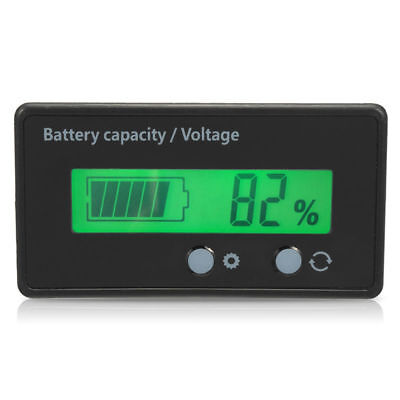24 V 36 V Volt Meter LCD Compteur indicateur 6v-63v 12 V 48 V 2s-15s Batterie Lithium-Ion