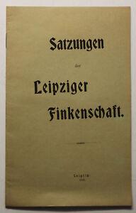 Orig-Prospekt-Satzungen-der-Leipziger-Finkenschaft-1808-Geschichte-Sachsen-sf