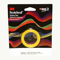 3m Scotchcal Striping Tape, 1/8 Inch, Bright Yellow, 70267, New, Free Shipping on sale