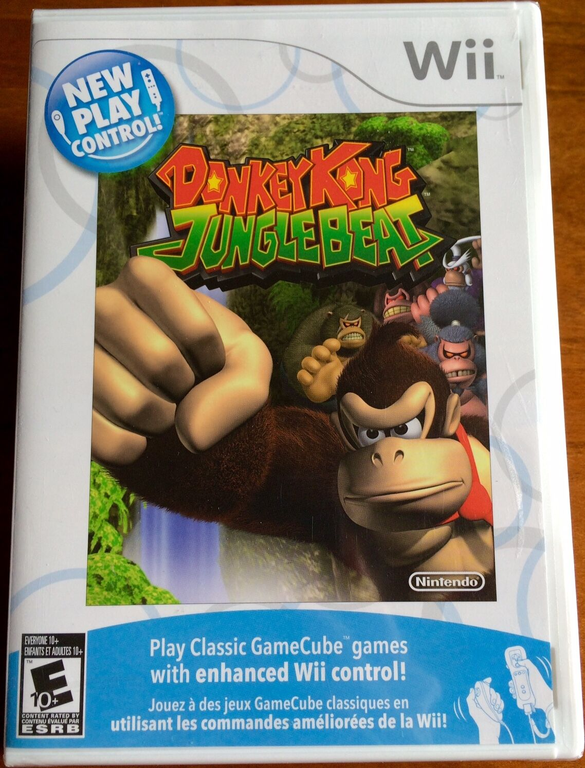 af92f260385 New Play Control Donkey Kong Jungle Beat (Nintendo Wii
