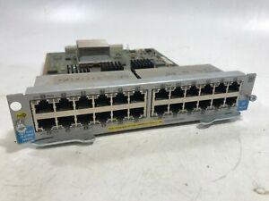 HP-J9534A-24-port-Gig-T-PoE-V2-ZL-Integrated-10-100-1000-Mod-USED