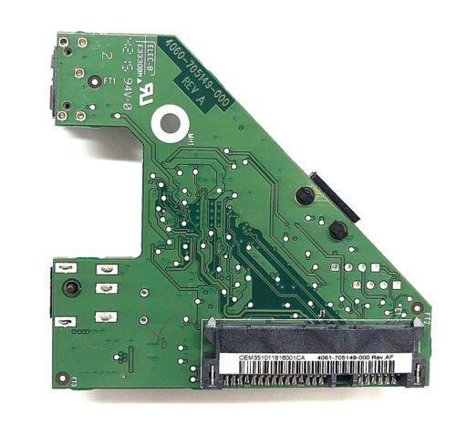 PCB ONLY 4061-705149-000 Rev AF WD 4060-705149-000 REV A SATA E17-06