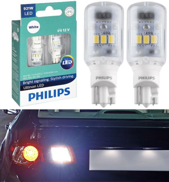 Philips Ultinon LED Léger 921 Blanc 6000K Deux Ampoules Cargo Coffre Rechange