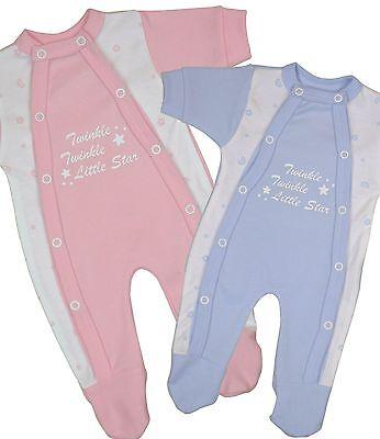 BabyPrem  PREEMIE Micro  Tiny Baby Clothes Sleeper Babygrow One-Piece Boys Girls