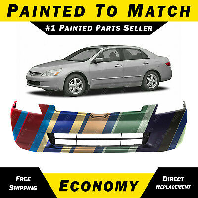 NEW fits 2003 2004 2005 Honda Accord Sedan Front Bumper Cover Painted