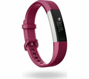 FITBIT Alta HR Fuschia, Small Up to 5 days battery life Splashproof